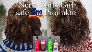 Die neuen Curly Girl safen DM Produkte im Test - CURLY GIRL METHODE / CURLY HAIR METHODE