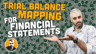 Mapping a Trial Balance to Create a Set of Financial Statements