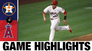 Angels rally, walk off against Astros | Astros-Angels Game Highlights 8/1/20