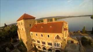 preview picture of video 'Tata -- Hungary - DJI Phantom, Flight with FPV, GoPro Hero 3 Black Edition'