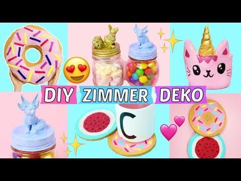Kawaii Einhorn Donut Selber Malen Diy игровое видео