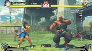 Sakusaku (Sakura) Vs Bullcat (Gouken) - AE 2012 Match *1080p HD*
