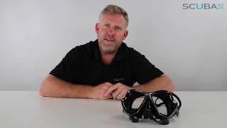 Mares X Vision Mask, Product review by Kevin Cook, www.scuba.co.za