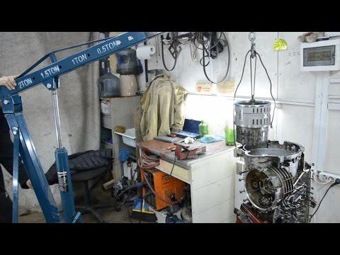Ремонт АКПП ZF HP24A - часть 1 Разборка и мойка