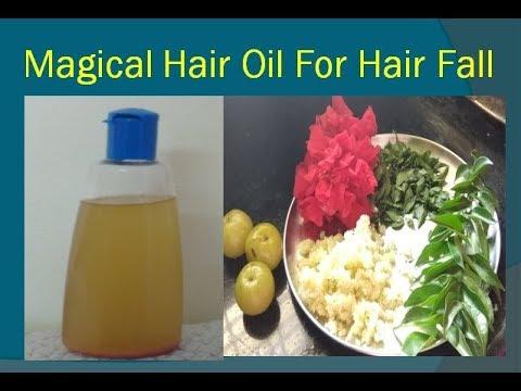 BAREX hair oil bili
