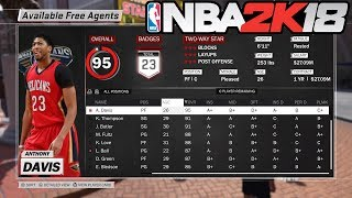 NBA 2K18 | HOW TO SCOUT & GET FREE AGENTS SIGNED TO YOUR MYCAREER TEAM | INFLUENCING FREE AGENCY