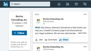 Sharing your LinkedIn Company Page Content & Follow Button (Update)