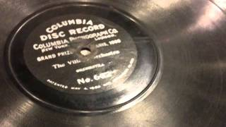 The Village Orchestra - Played by Columbia Orchestra - 78 RPM Columbia Disc Record No. 632