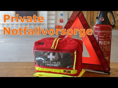 Notfallausstattung im PKW | Erste Hilfe