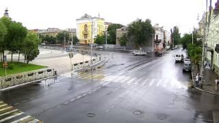 Авария на перекрестке Ленина - Тредиаковская