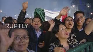 Mexico: Independence Day celebrations light up night sky