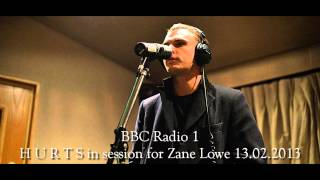 HURTS - Locked out of heaven [Bruno Mars Cover] (BBC Radio 1 session 13.02.2013)