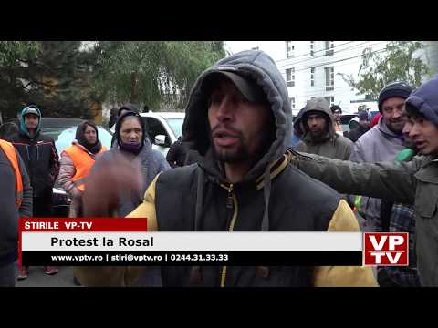 Protest la Rosal