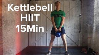 Kettlebell HIIT Workout 15Min by Matthew David PT