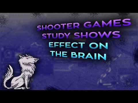 Shooter Games study shows effect on brain