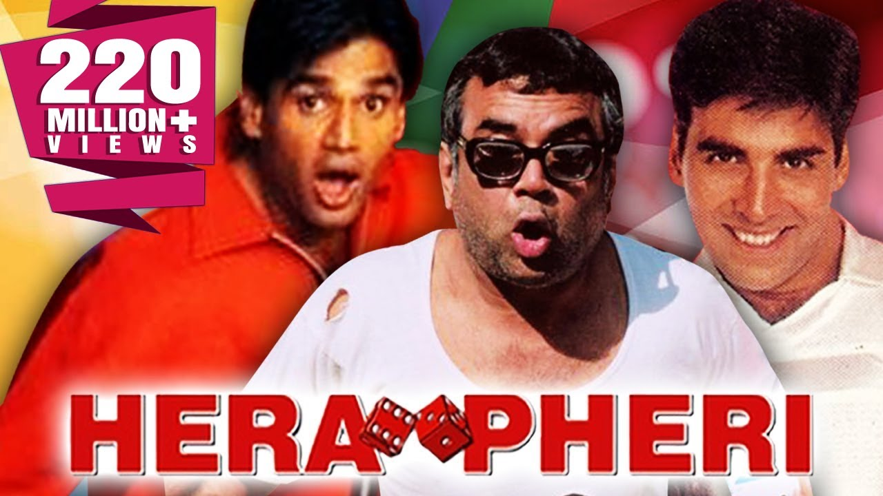 Watch Bollywood's Best Comedy Movie Hera Pheri For Free