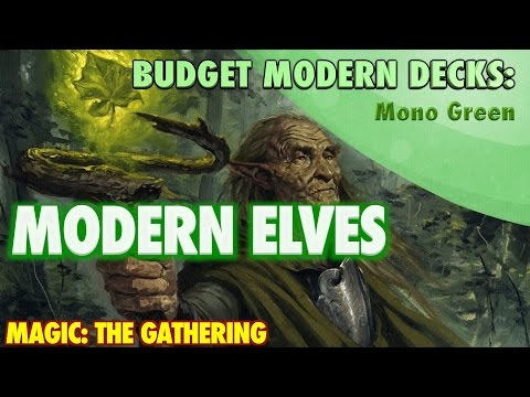 MTG - Modern Elves, A Budget Mono Green Deck Tech For Magic: The Gathering Mp3