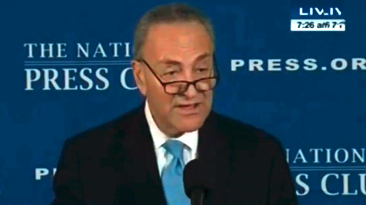 Chuck Schumer Craps On Obamacare, His Party & Your Intelligence thumbnail