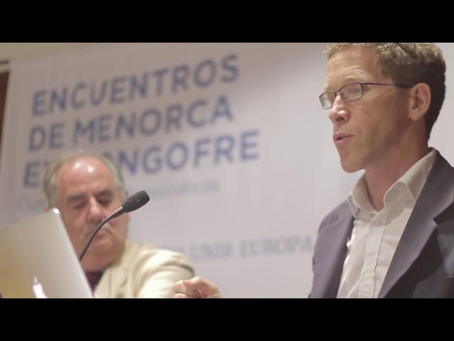 ¿PUEDE LA LITERATURA UNIR EUROPA? - ENCUENTROS DE MENORCA