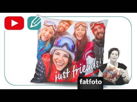 fatfoto Bettwäsche online gestalten und randlos drucken