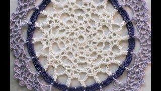 Cute And Easy Crochet Doily | AllFreeCrochet