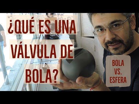¿Qué es una válvula de bola?
