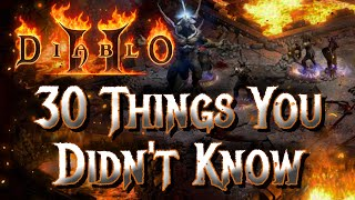 30 Things You Didn
