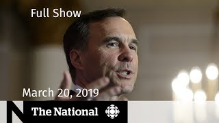 The National for March 20, 2019 – Liberal Quits Party, Brexit Delay, New Zealand Burials