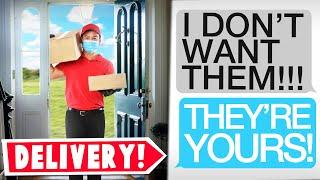 "r/entitledparents | ""I WILL DELIVER MY PARCELS TO YOUR HOUSE!"" - Storytime Reddit"