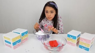 Çekmeceden Ne Çıkarsa Slime Yarişması What Makes Slime Competition? Fun Kid Video