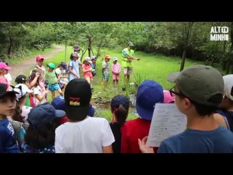 Dezenas de crianças participam nas Oficinas de Verão nas Lagoas de Bertiandos