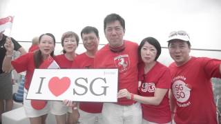 SG50s National Day Celebration at Altitude