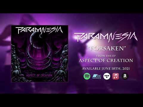 PARAM-NESIA - Forsaken (Official Audio) online metal music video by PARAM-NESIA