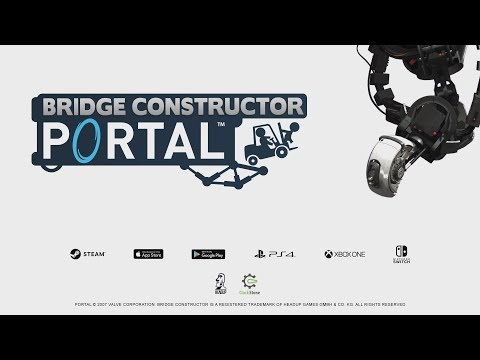 Bridge Constructor Portal Gameplay Trailer thumbnail