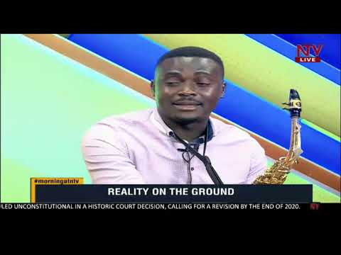 ON THE GROUND: Joseph Bemba, living off the saxophone