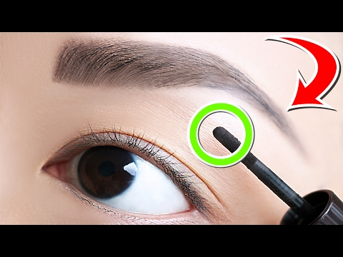 7 Clever Tricks To Get PERFECT Eyebrows!