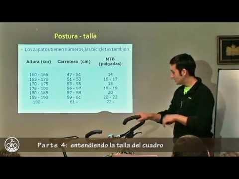 Tutorial: comodidad sobre la bicicleta / Parte 4: la talla, el cuadro a medida