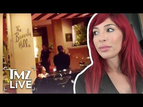 [TMZ]  Farrah Abraham Released from Jail After Beverly Hills Arrest