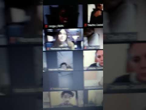 Video viral: la Pato Bullrich hablaba por zoom y un intendente se le durmió