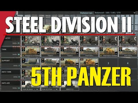 5TH PANZER! Steel Division 2 Battlegroup BETA Preview #2