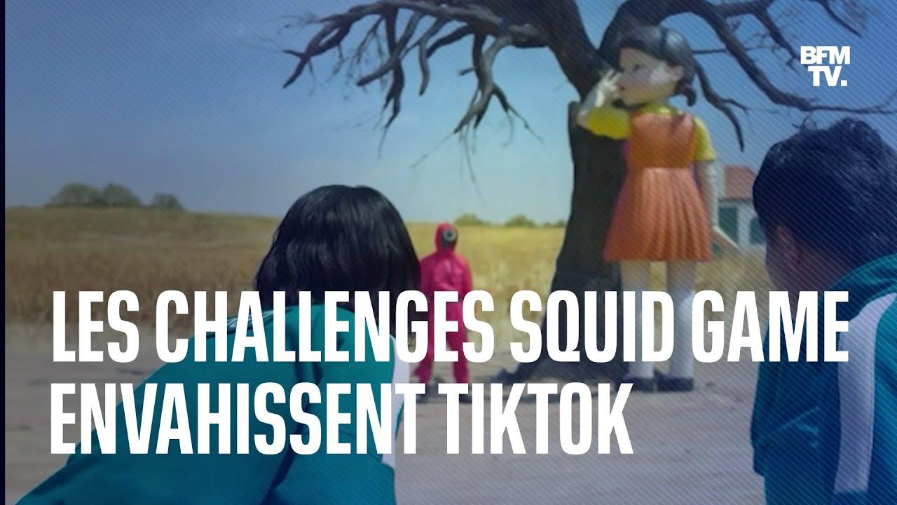 """""""Squid Game"""": les challenges inspirés de la série font un carton sur les réseaux"""