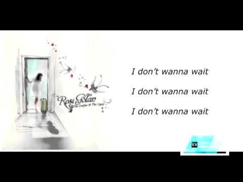 Música I Don't Wanna Wait