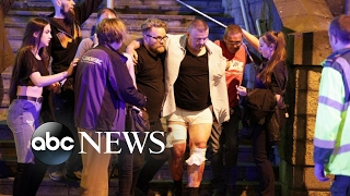 Chaos after reports of explosion at Manchester Arena