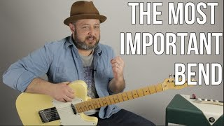 The MOST Important Bend For Blues Lead Guitar