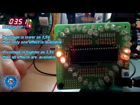 3Pcs DIY Colorful Heart Shape Electronic LED Flashing Kit-Banggood.com