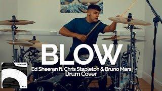 Blow   Ed Sheeran Ft. Chris Stapleton & Bruno Mars   Drum Cover