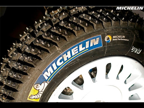 Studded tyres explained by Andreas Mikkelsen - 2017 WRC Rally Sweden - Michelin Motorsport