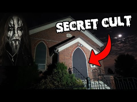 DONT GO TO A SATANIC CHURCH OVERNIGHT! | EXPOSING A SECRET CULT HIDDEN IN THIS CHURCH