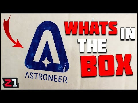 WHATS In The BOX?! Astroneer Sent Me A Box ! | Z1 Gaming