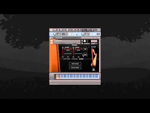 Video for Angelic Harp - Glissandos